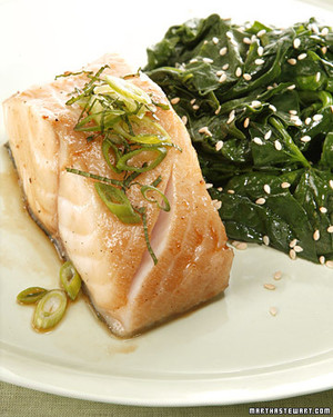 CITRUS-GLAZED COD